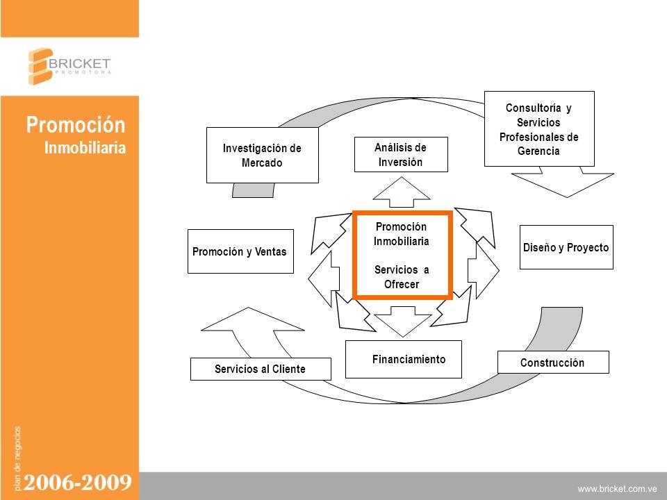 Promoción Inmobiliaria VISION Y MISION