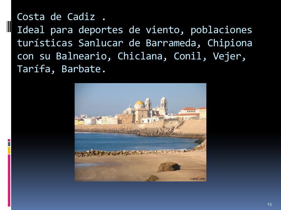 Costa de Cadiz .
