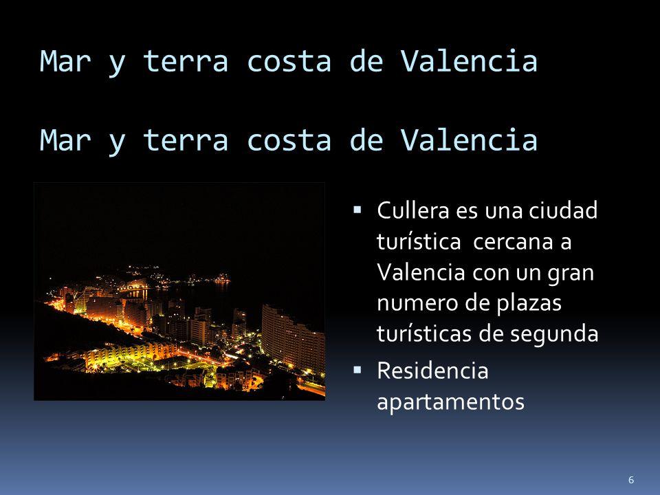 Mar y terra costa de Valencia Mar y terra costa de Valencia
