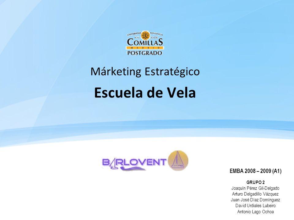 Márketing Estratégico Escuela de Vela