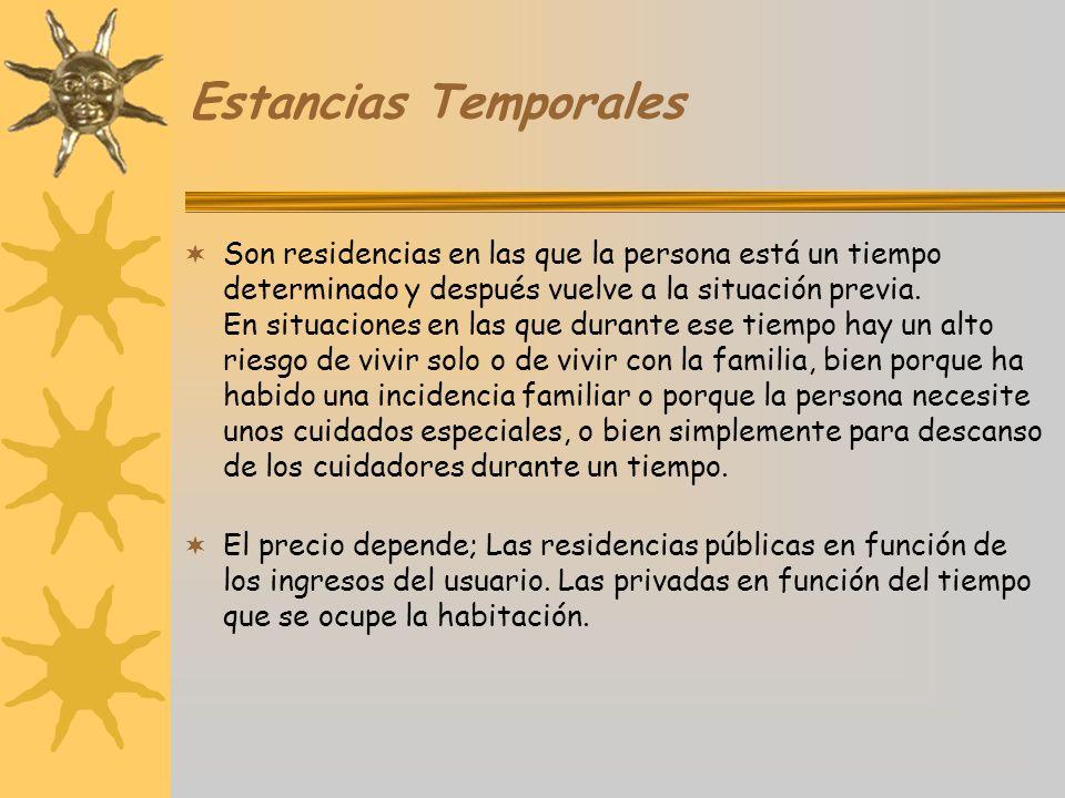 Estancias Temporales
