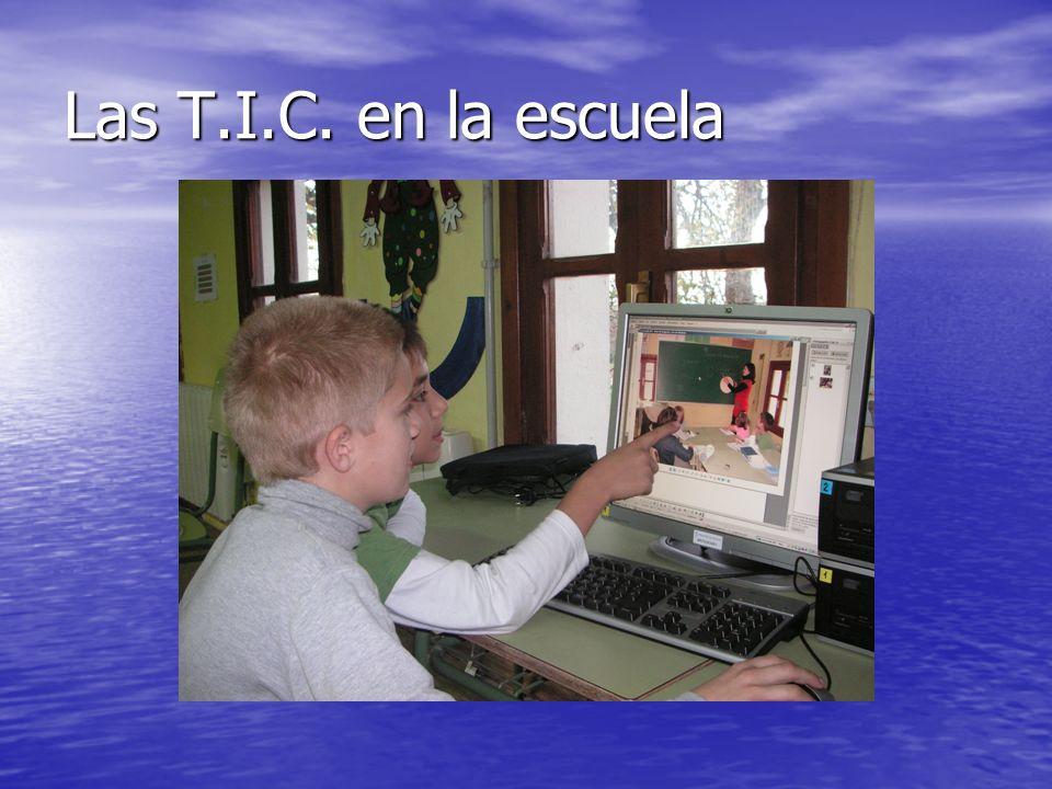 Las T.I.C. en la escuela