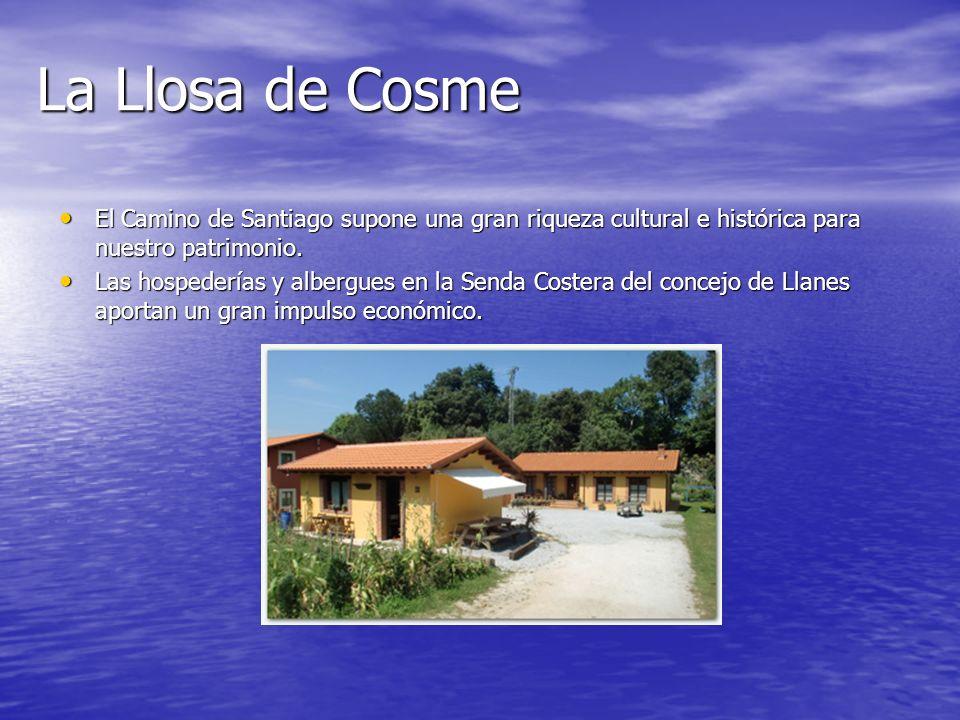 La Llosa de CosmeEl Camino de Santiago supone una gran riqueza cultural e histórica para nuestro patrimonio.