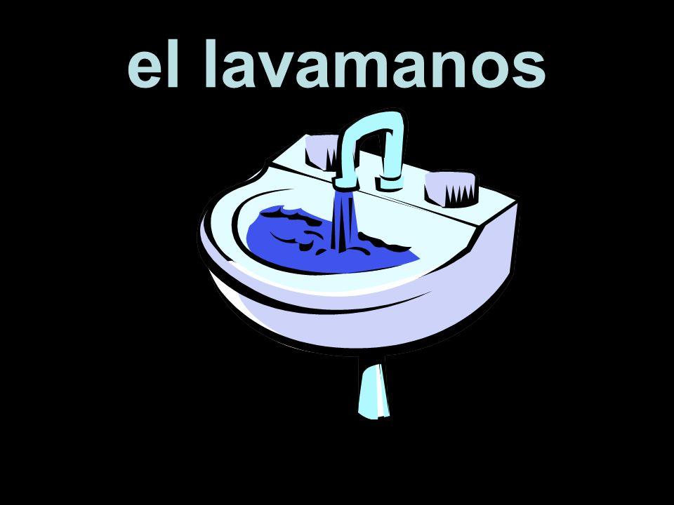 el lavamanos