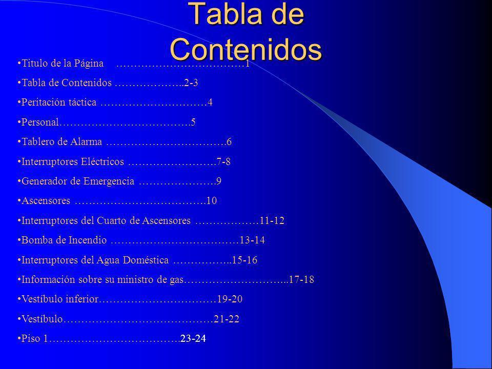 Tabla de Contenidos Titulo de la Página ………………………………1
