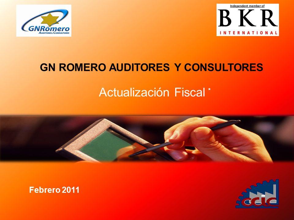 GN ROMERO AUDITORES Y CONSULTORES