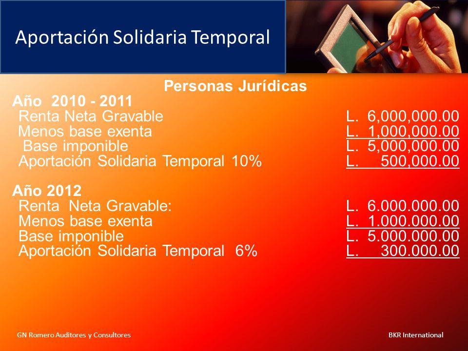 Aportación Solidaria Temporal