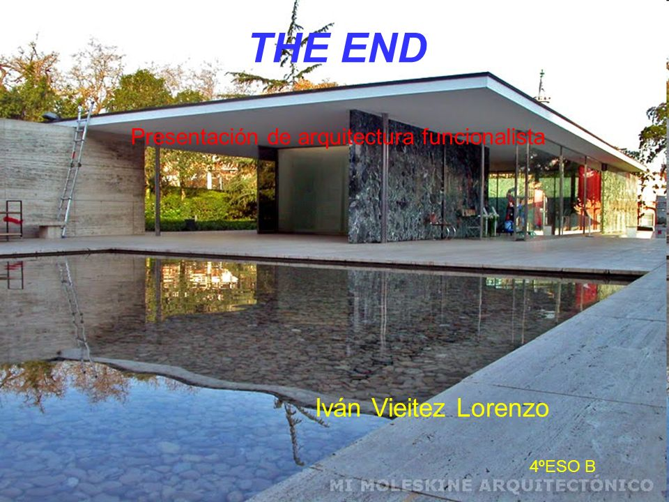 THE END Iván Vieitez Lorenzo