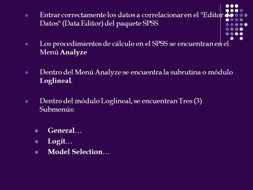 General… Logit… Model Selection…