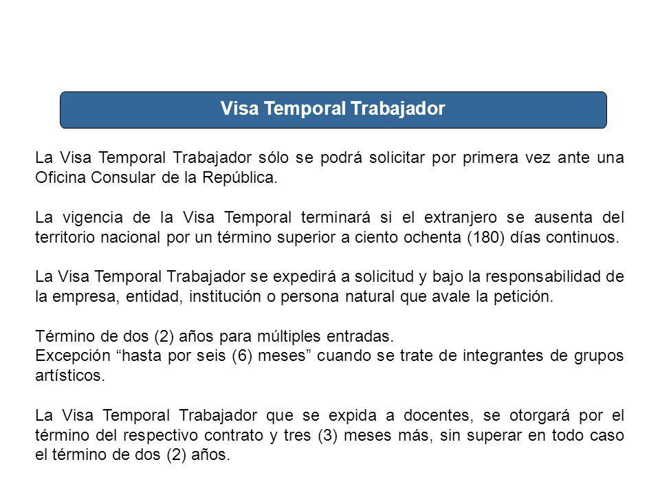 Visa Temporal Trabajador