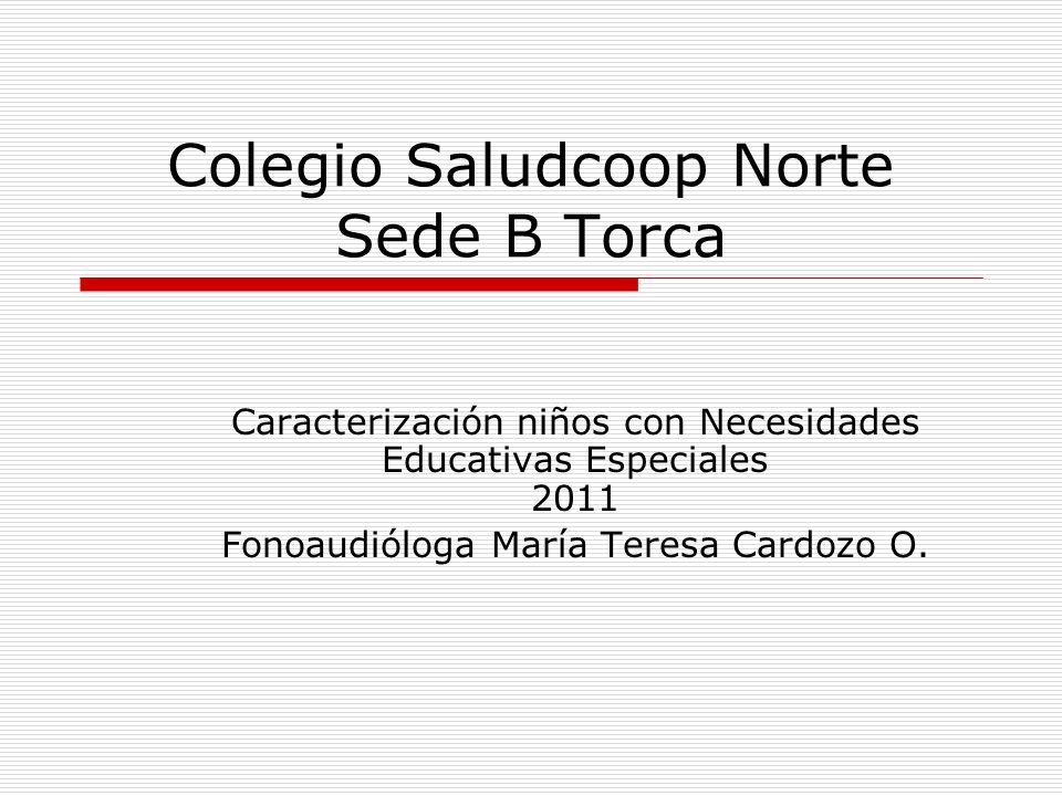 Colegio Saludcoop Norte Sede B Torca