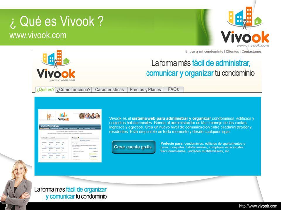 ¿ Qué es Vivook www.vivook.com