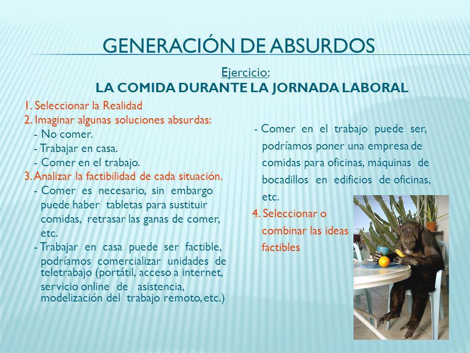 GENERACIÓN DE ABSURDOS