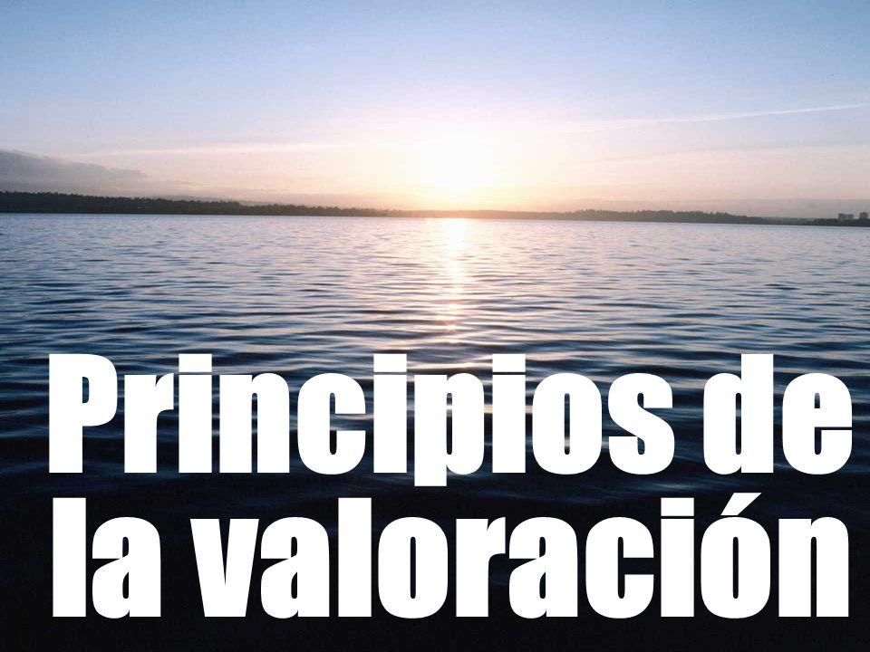 Principios de la valoración