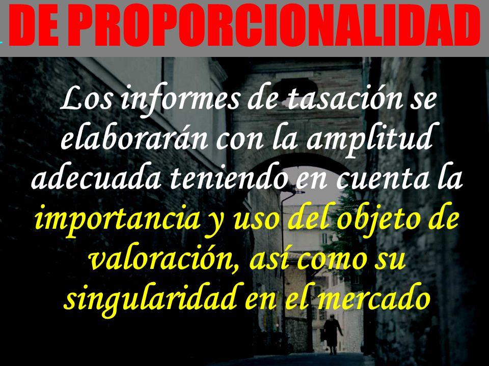 DE PROPORCIONALIDAD