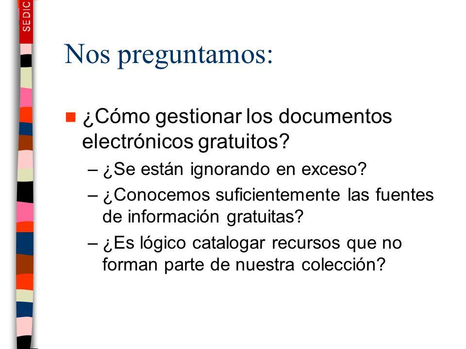 Nos preguntamos: ¿Cómo gestionar los documentos electrónicos gratuitos ¿Se están ignorando en exceso