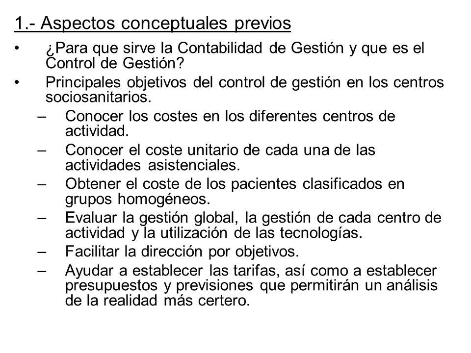 1.- Aspectos conceptuales previos