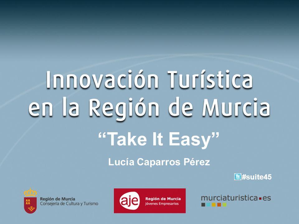 Take It Easy Lucía Caparros Pérez #suite45