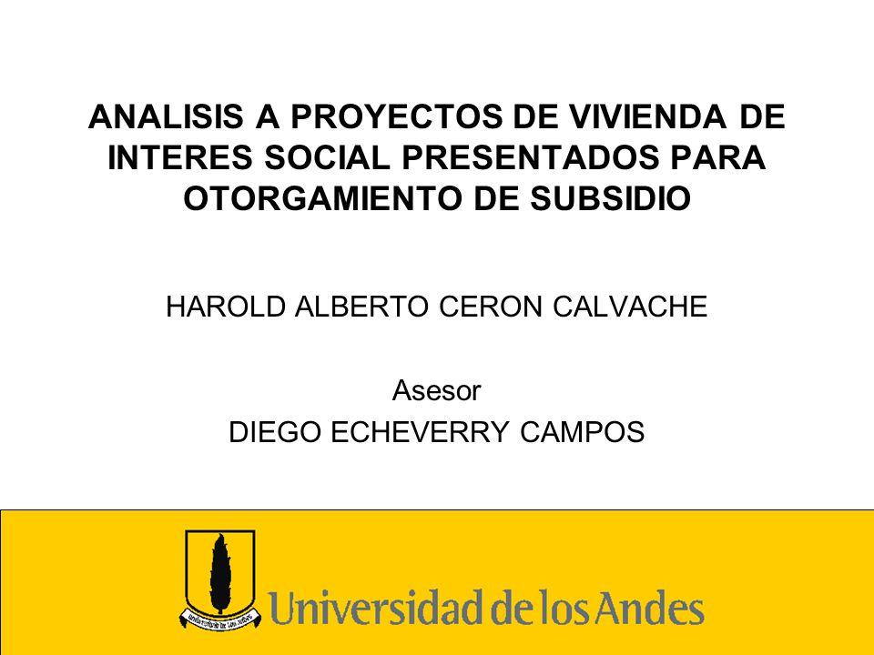 HAROLD ALBERTO CERON CALVACHE Asesor DIEGO ECHEVERRY CAMPOS