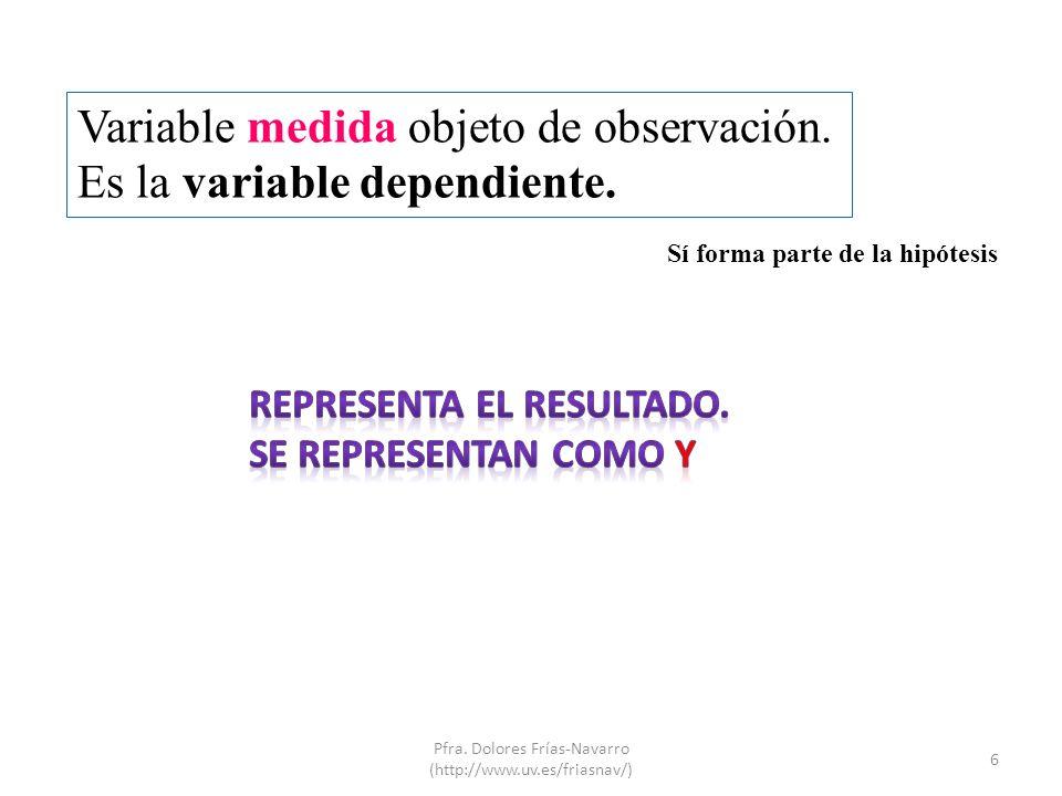 Pfra. Dolores Frías-Navarro (http://www.uv.es/friasnav/)