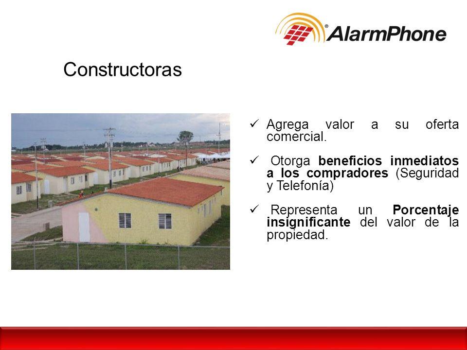 Constructoras Agrega valor a su oferta comercial.