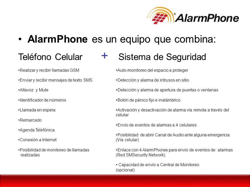 AlarmPhone es un equipo que combina: