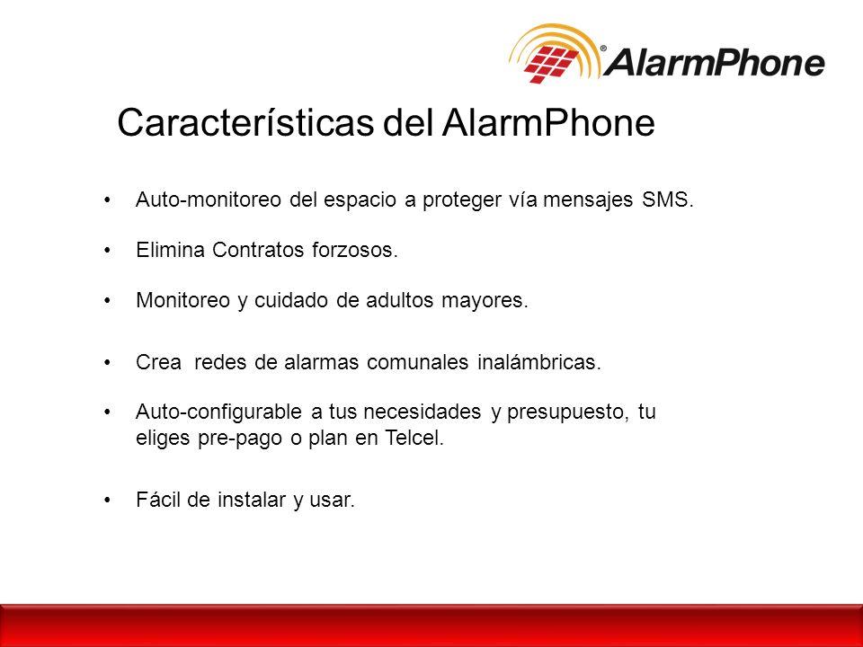Características del AlarmPhone