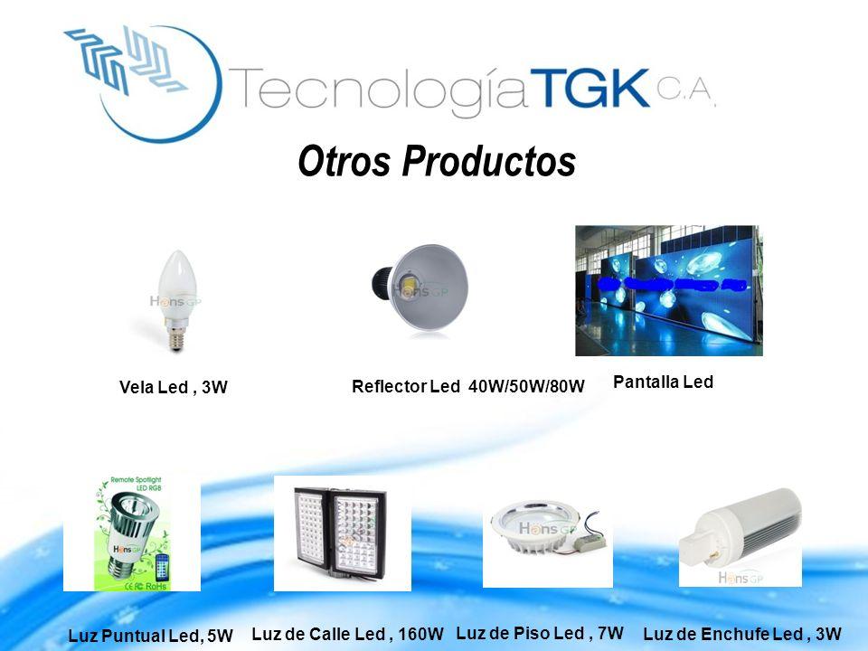 Otros Productos Vela Led , 3W Reflector Led 40W/50W/80W Pantalla Led