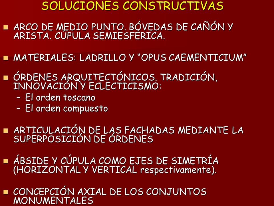 SOLUCIONES CONSTRUCTIVAS