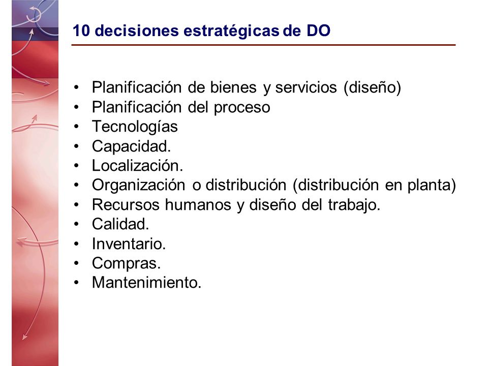 10 decisiones estratégicas de DO