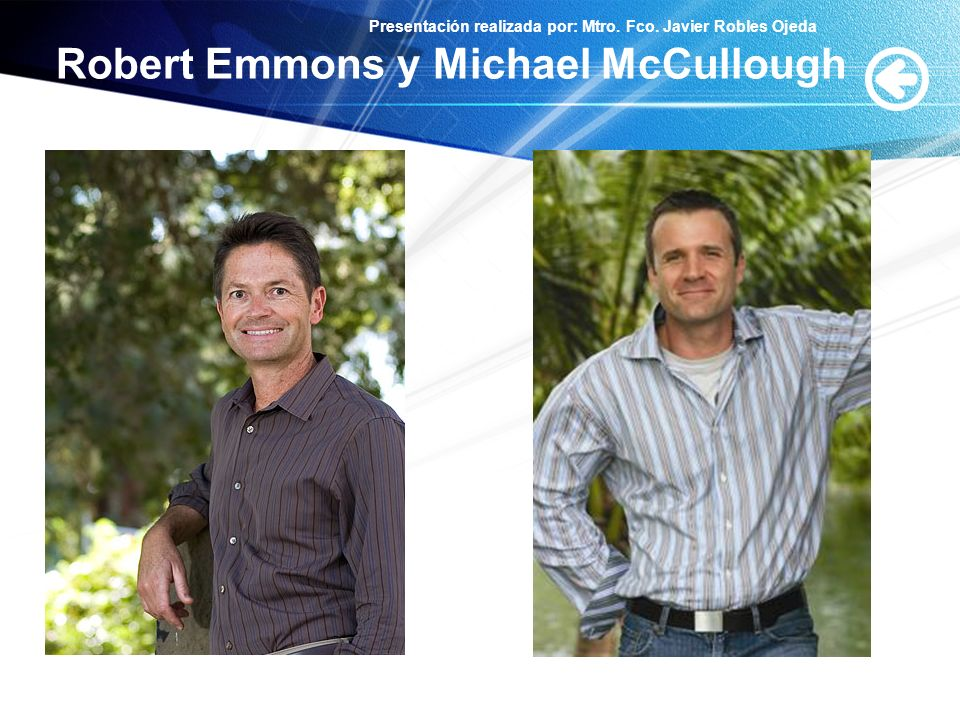 Robert Emmons y Michael McCullough