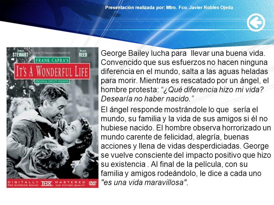 George Bailey lucha para llevar una buena vida