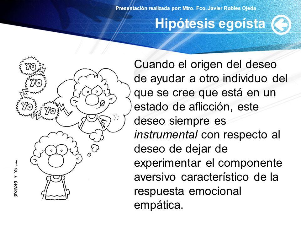 Hipótesis egoísta