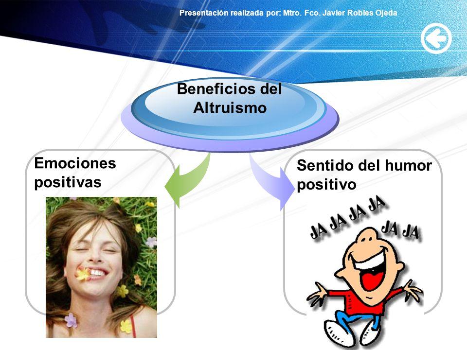 Beneficios del Altruismo