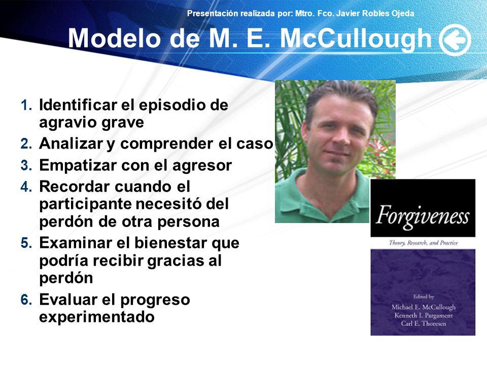 Modelo de M. E. McCullough