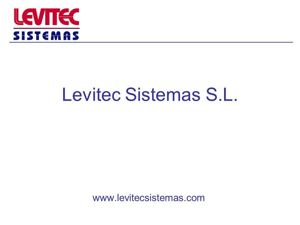 Levitec Sistemas S.L. www.levitecsistemas.com