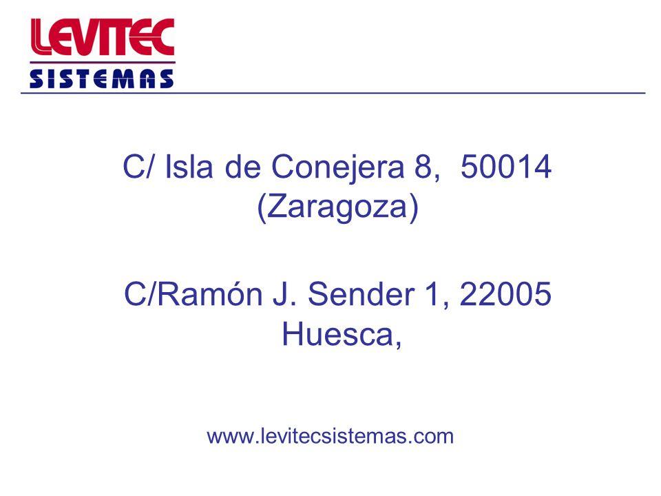 C/ Isla de Conejera 8, 50014 (Zaragoza) C/Ramón J