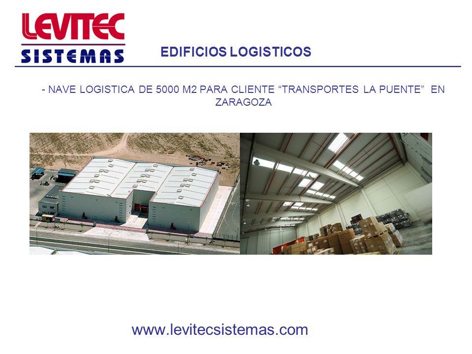 EDIFICIOS LOGISTICOS www.levitecsistemas.com