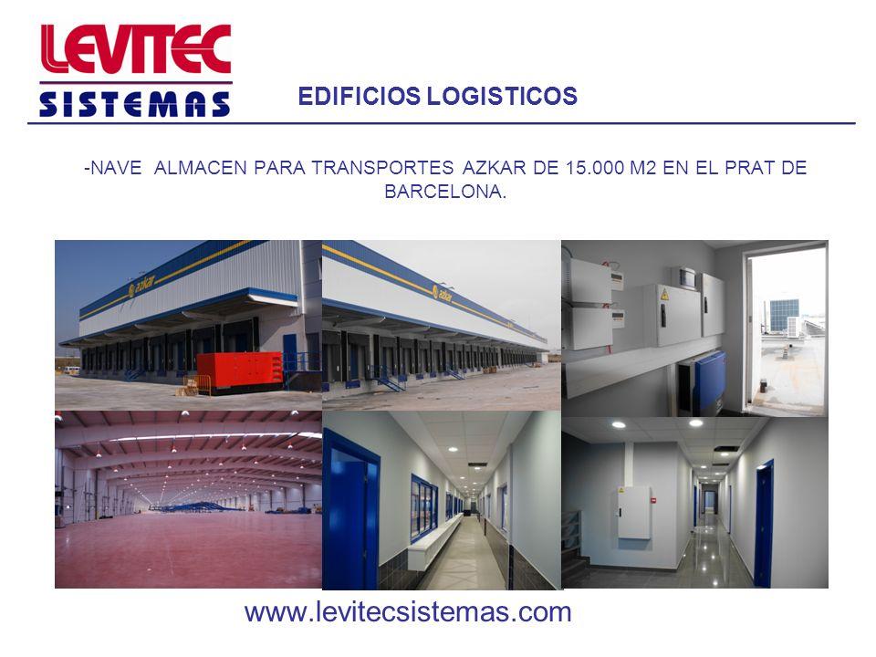 www.levitecsistemas.com EDIFICIOS LOGISTICOS