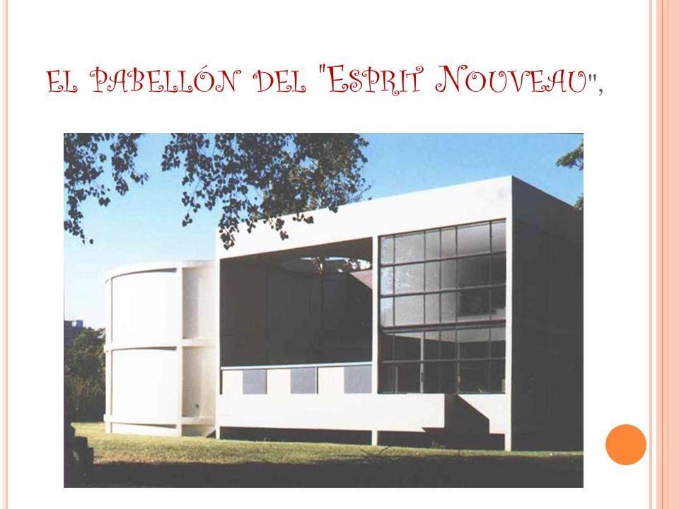 el pabellón del Esprit Nouveau ,