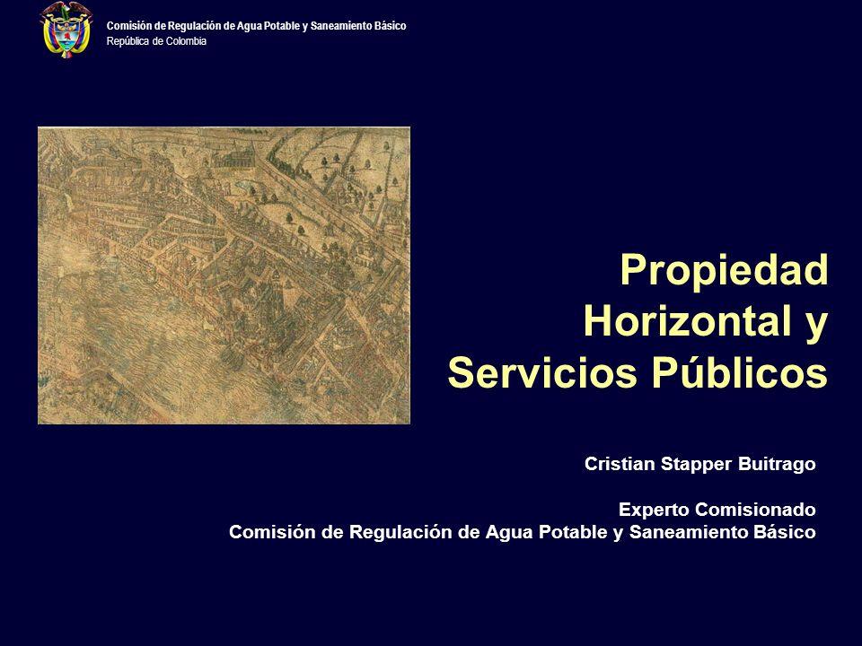 Propiedad Horizontal y Servicios Públicos