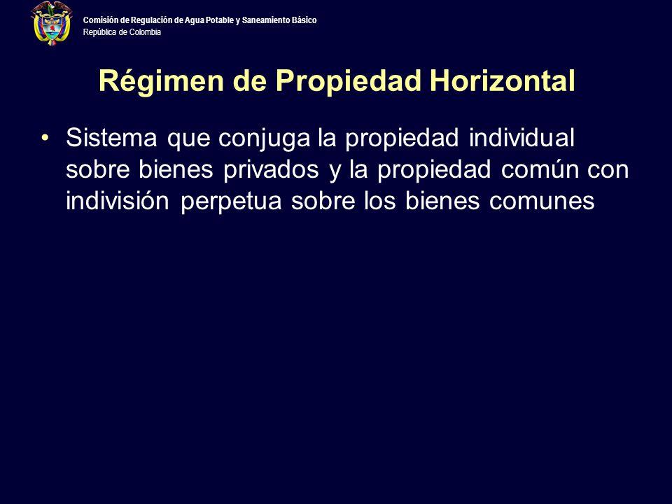 Régimen de Propiedad Horizontal