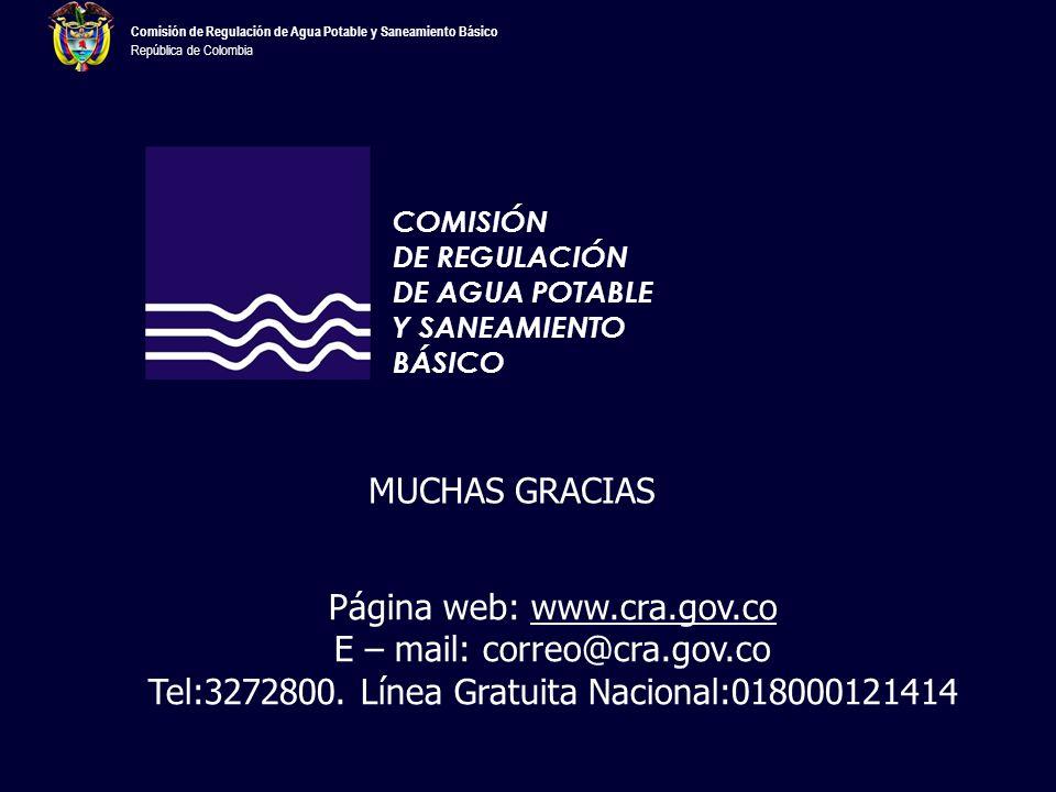 E – mail: correo@cra.gov.co
