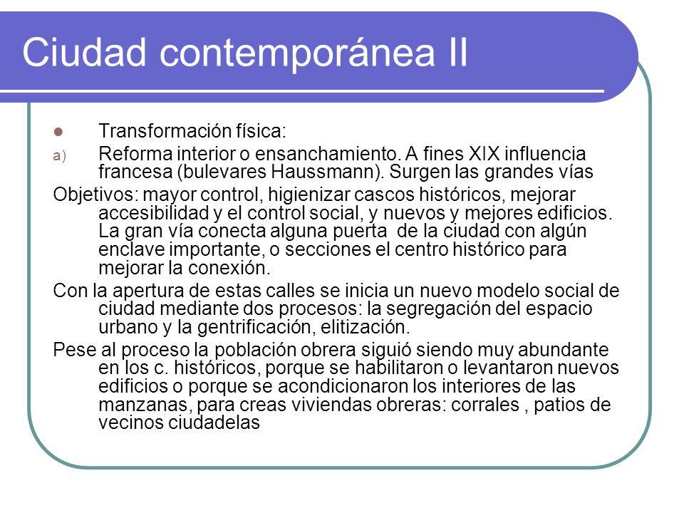 Ciudad contemporánea II