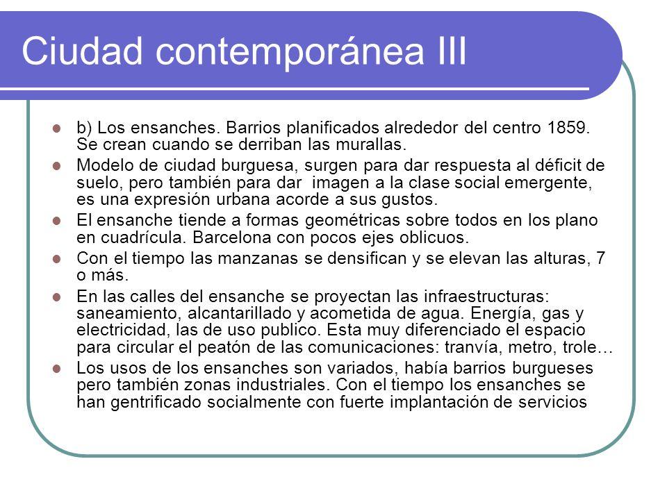 Ciudad contemporánea III
