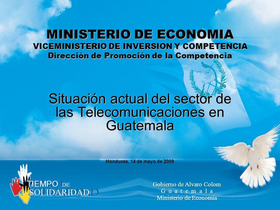 Situación actual del sector de las Telecomunicaciones en Guatemala