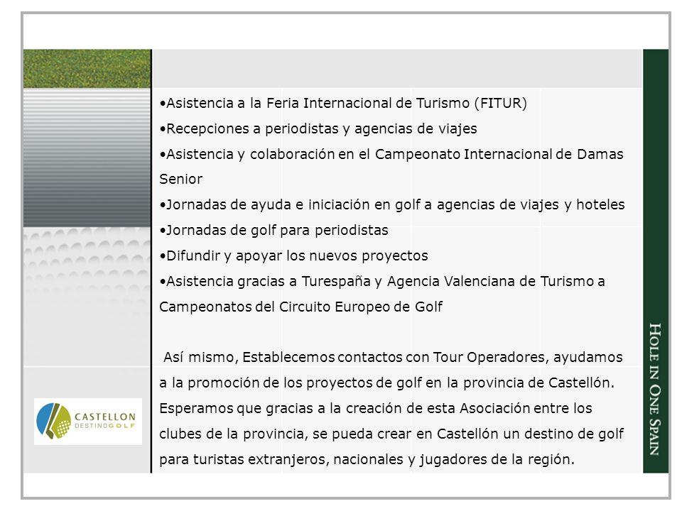 Asistencia a la Feria Internacional de Turismo (FITUR)