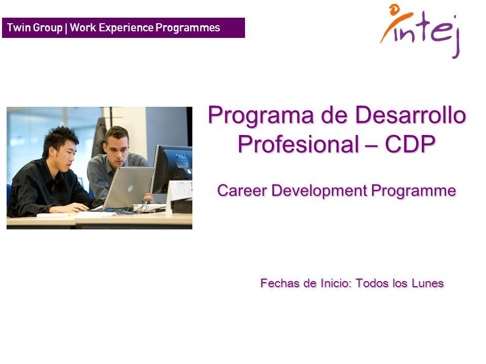 Programa de Desarrollo Profesional – CDP