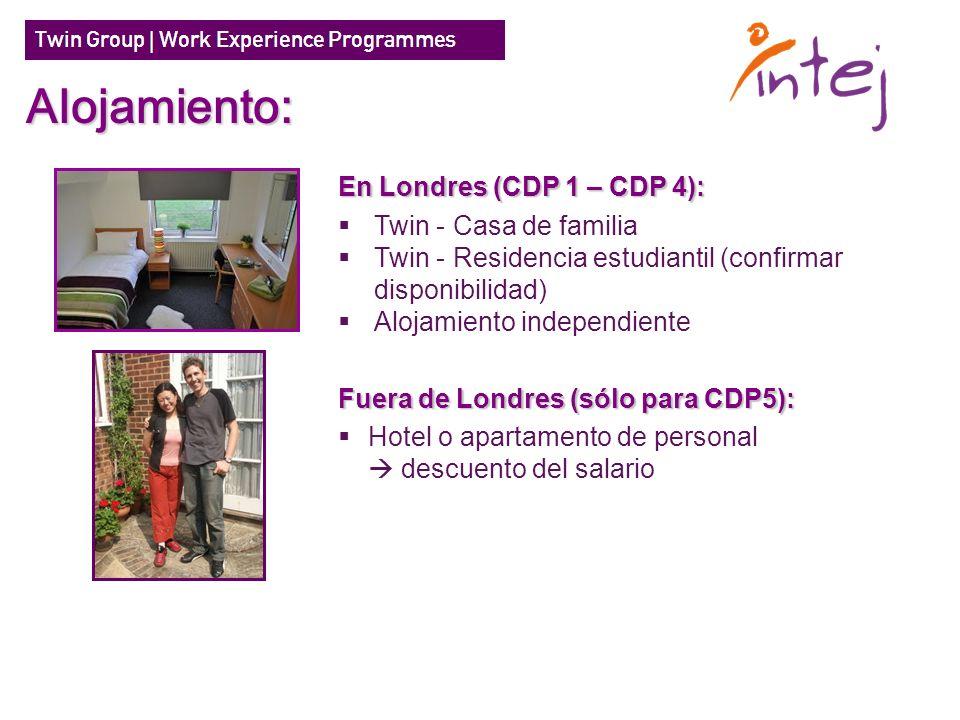 Alojamiento: En Londres (CDP 1 – CDP 4): Twin - Casa de familia