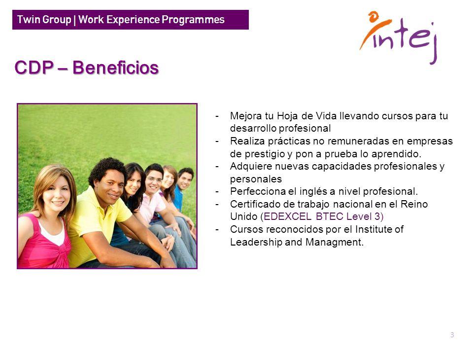 CDP – BeneficiosMejora tu Hoja de Vida llevando cursos para tu desarrollo profesional.